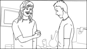 Route and Troy short storyboard portfolio-65