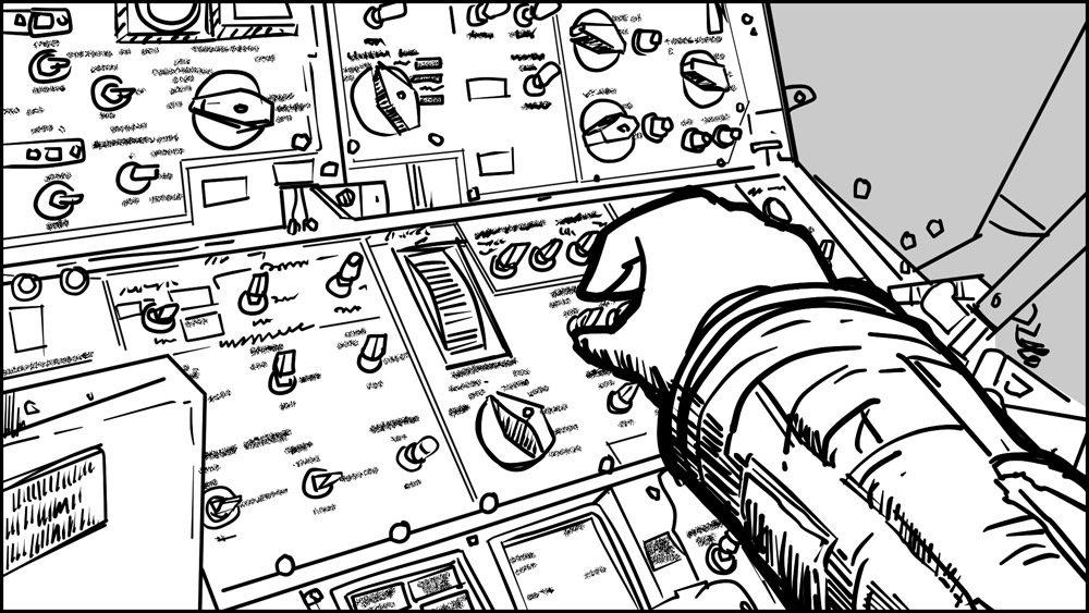 Spaceman storyboard portfolio-4