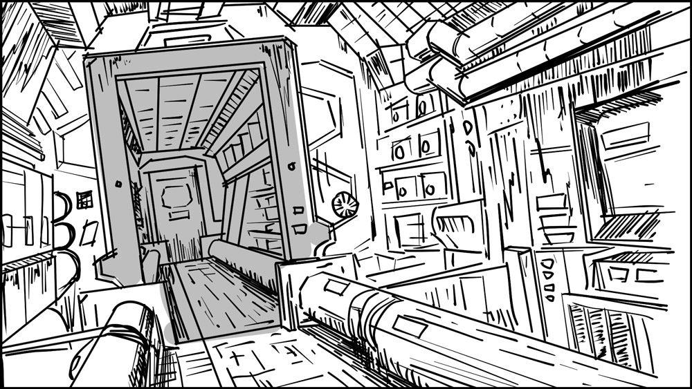 Spaceman storyboard portfolio-5