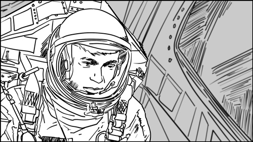 Spaceman storyboard portfolio-featured