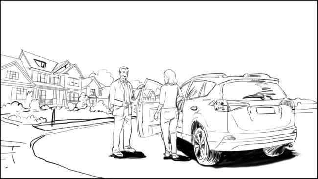 Australian Best Celebrity Driver ABCD storyboard portfolio-1