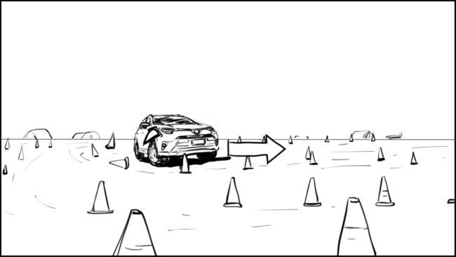 Australian Best Celebrity Driver ABCD storyboard portfolio-19