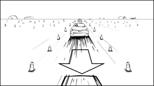 Australian Best Celebrity Driver ABCD storyboard portfolio-21