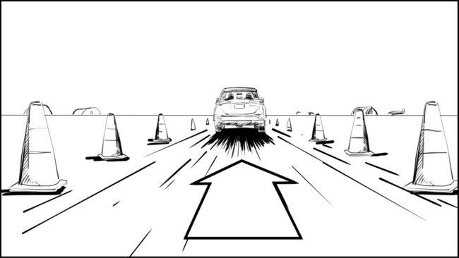 Australian Best Celebrity Driver ABCD storyboard portfolio-22