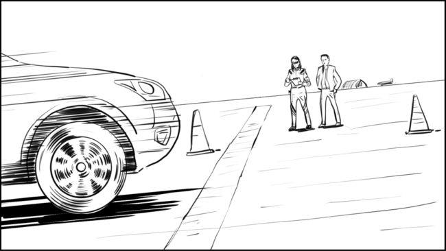 Australian Best Celebrity Driver ABCD storyboard portfolio-23A