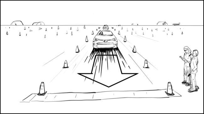 Australian Best Celebrity Driver ABCD storyboard portfolio-23C