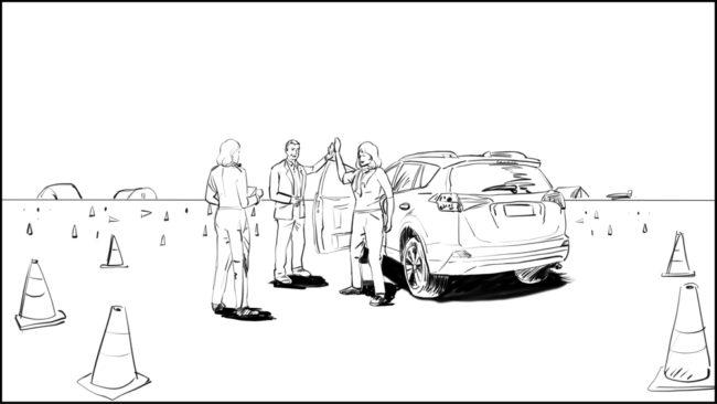 Australian Best Celebrity Driver ABCD storyboard portfolio-24