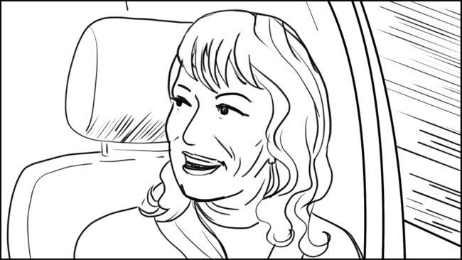Australian Best Celebrity Driver ABCD storyboard portfolio-3