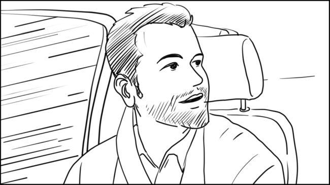 Australian Best Celebrity Driver ABCD storyboard portfolio-4