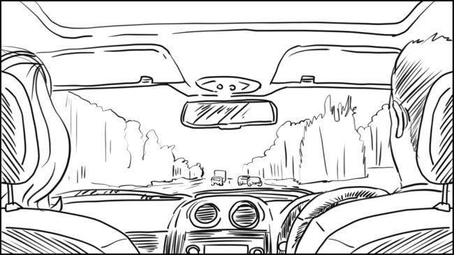 Australian Best Celebrity Driver ABCD storyboard portfolio-5