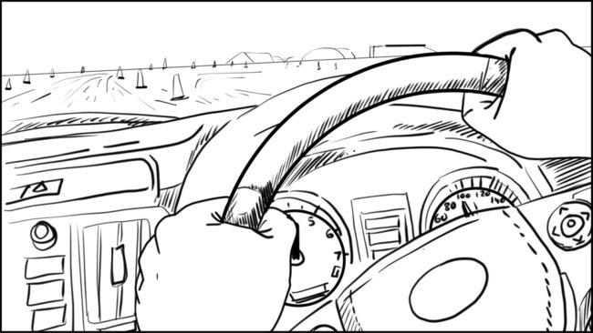 Australian Best Celebrity Driver ABCD storyboard portfolio-8