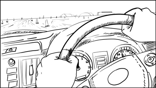 Australian Best Celebrity Driver ABCD storyboard portfolio-featured