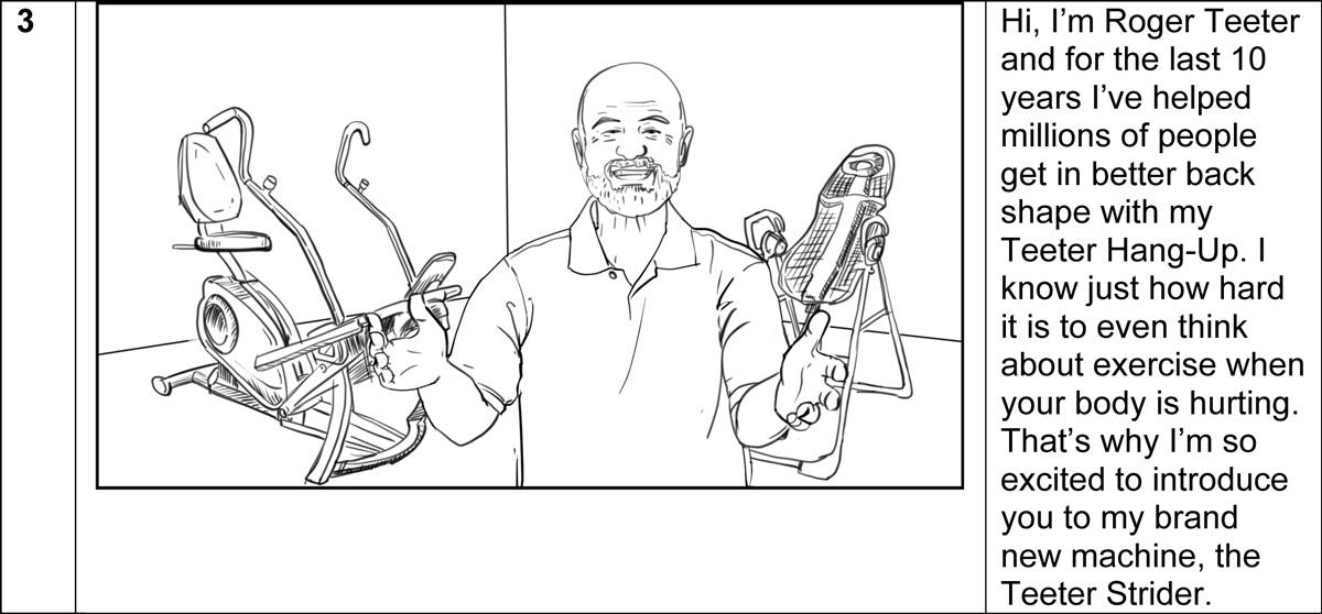 Teeter Strider commercial storyboard portfoliio-3