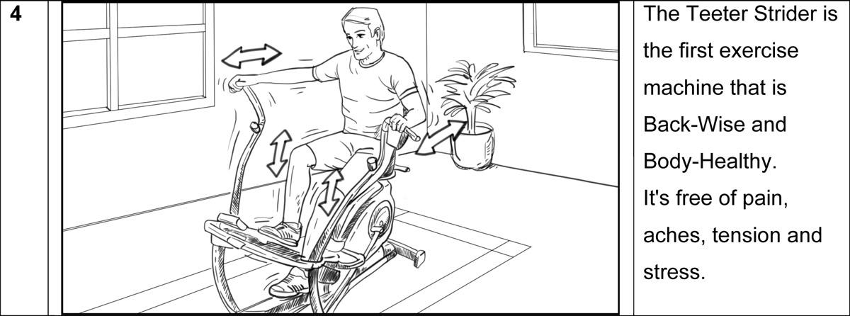 Teeter Strider commercial storyboard portfoliio-4