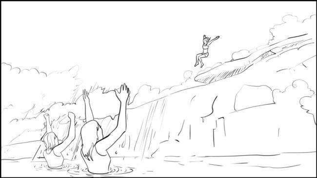 Conquering Fear storyboard portfolio-12A