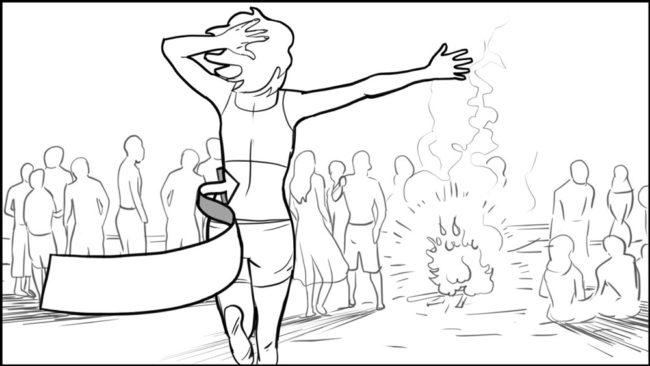 Conquering Fear storyboard portfolio-14