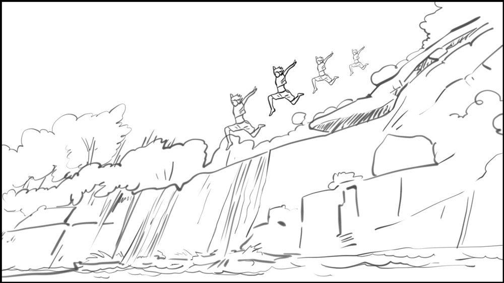 Conquering Fear storyboard portfolio-9B
