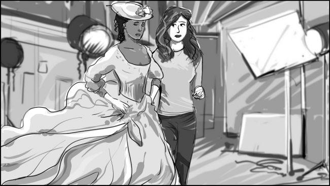 Famous In Love-Back Lot Wonderland storyboard portfolio-8