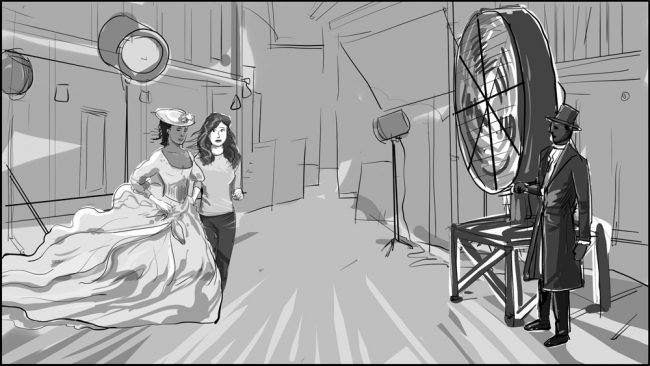 Famous In Love-Back Lot Wonderland storyboard portfolio-9
