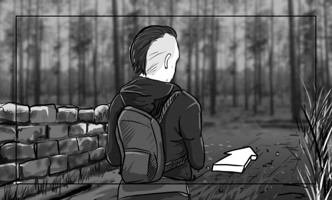 Hunger Pains storyboard portfolio-26A