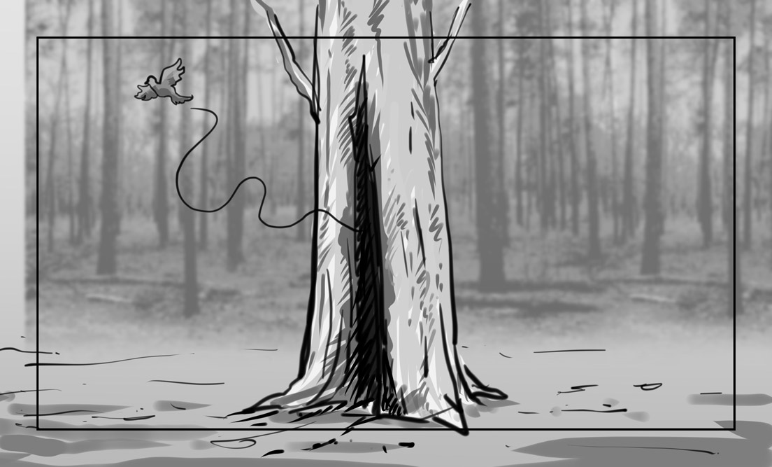 Hunger Pains storyboard portfolio-31B