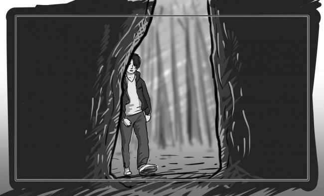 Hunger Pains storyboard portfolio-35A