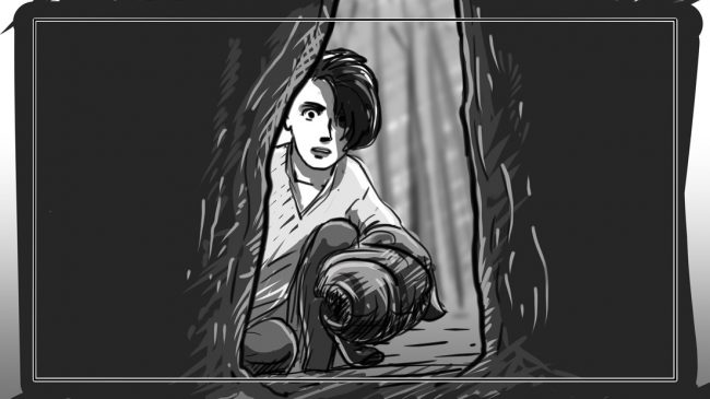 Hunger Pains storyboard portfolio-35B