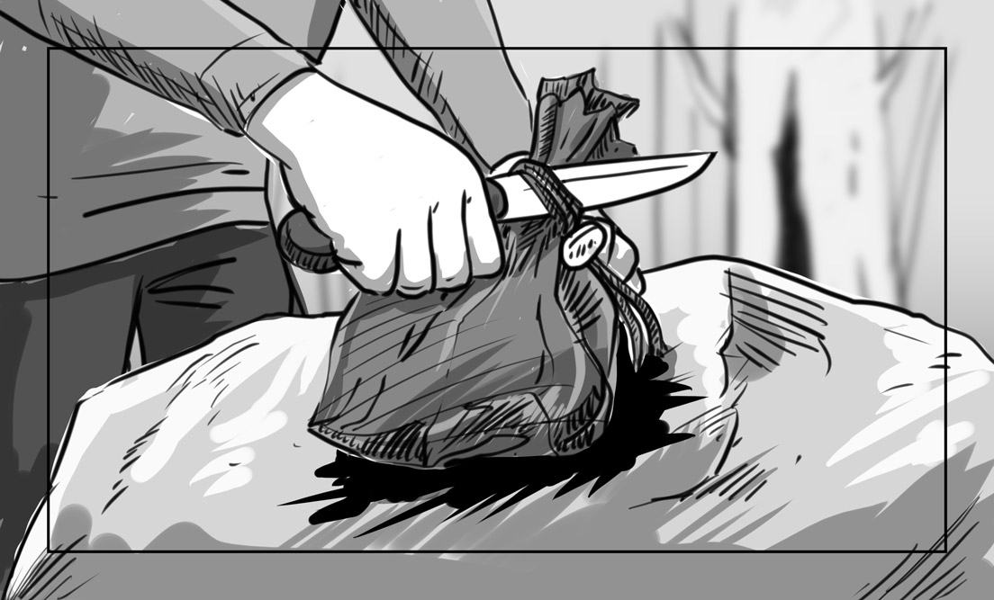 Hunger Pains storyboard portfolio-38A