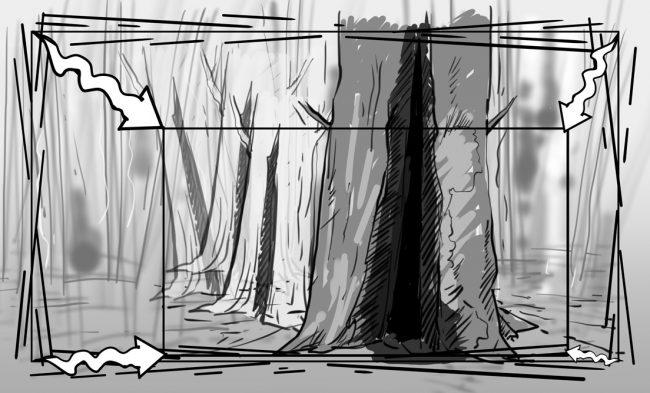 Hunger Pains storyboard portfolio-49B