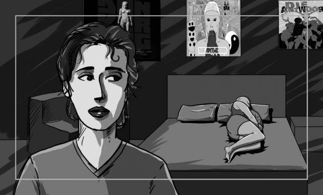 Hunger Pains storyboard portfolio-5