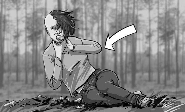 Hunger Pains storyboard portfolio-50D