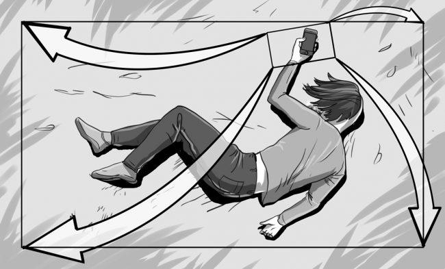 Hunger Pains storyboard portfolio-51B