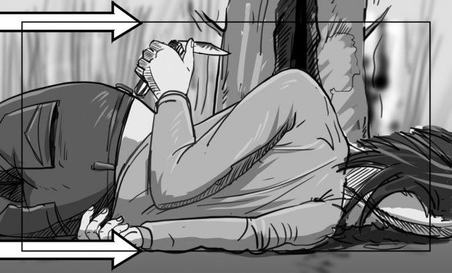 Hunger Pains storyboard portfolio-52B