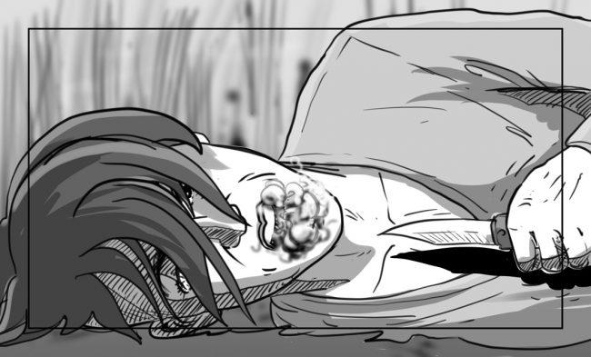 Hunger Pains storyboard portfolio-52C