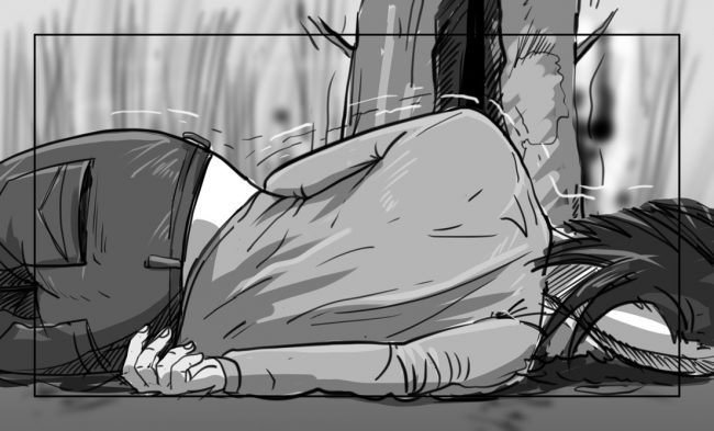 Hunger Pains storyboard portfolio-54A