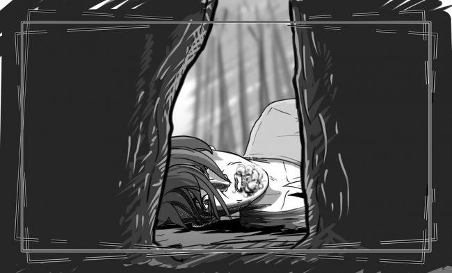 Hunger Pains storyboard portfolio-54B1