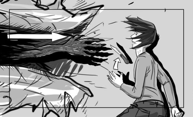 Hunger Pains storyboard portfolio-54C