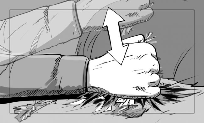 Hunger Pains storyboard portfolio-55A2