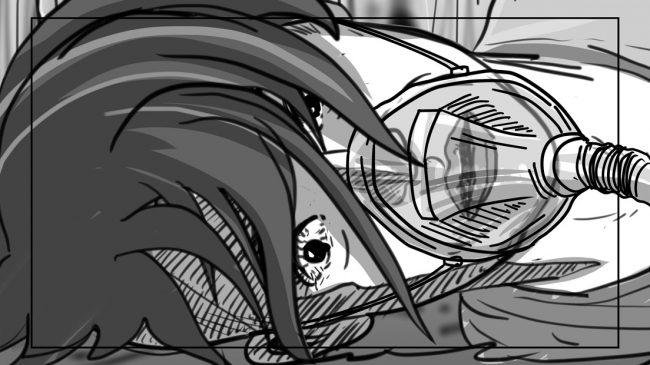 Hunger Pains storyboard portfolio-58B