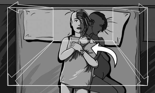 Hunger Pains storyboard portfolio-7