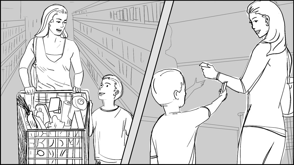MAX Credit Union smart money made simple storyboards-3
