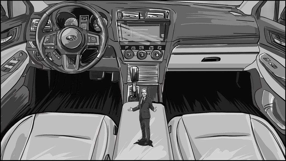 Subaru car commercial storyboard portfolio-3