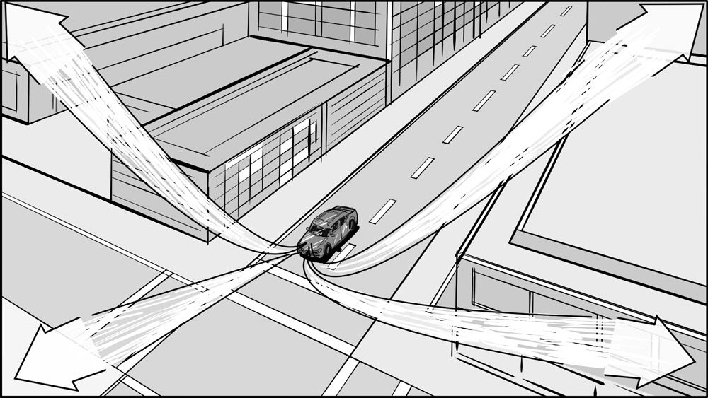 Subaru car commercial storyboard portfolio-7