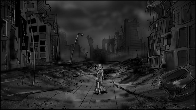 Music album promo video storyboards-1