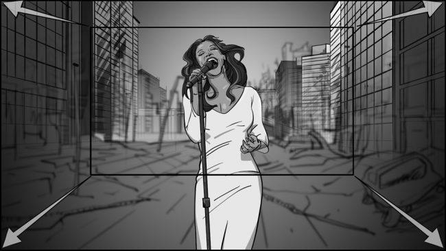 Music album promo video storyboards-10