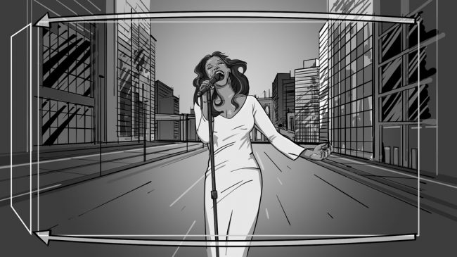 Music album promo video storyboards-11