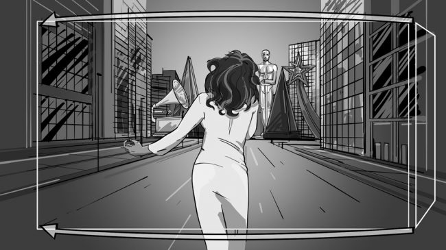 Music album promo video storyboards-12