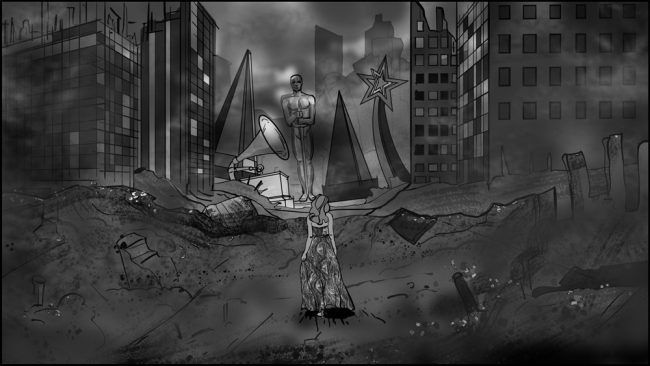 Music album promo video storyboards-2B