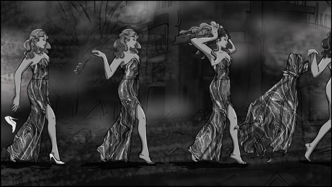 Music album promo video storyboards-4