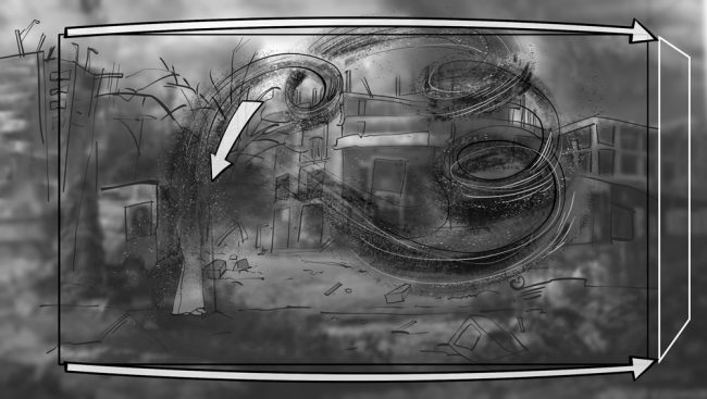 Music album promo video storyboards-9A